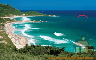 Venda de terrenos frente ao mar na Praia Mole em Florianópolis, SC