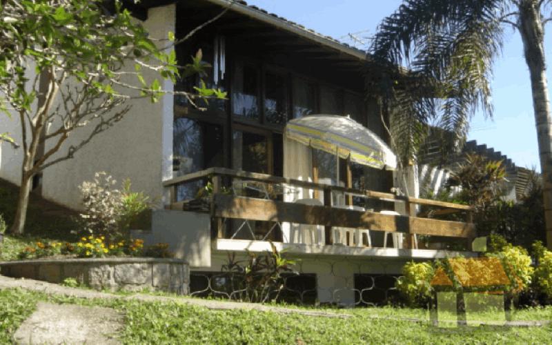 Fachada de uma das casas