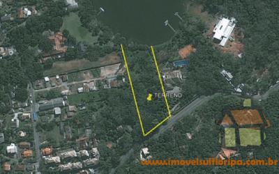 Venda de terrenos em frente a Lagoa Conceição em Florianópolis, SC