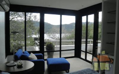 Suite com vista para lagoa