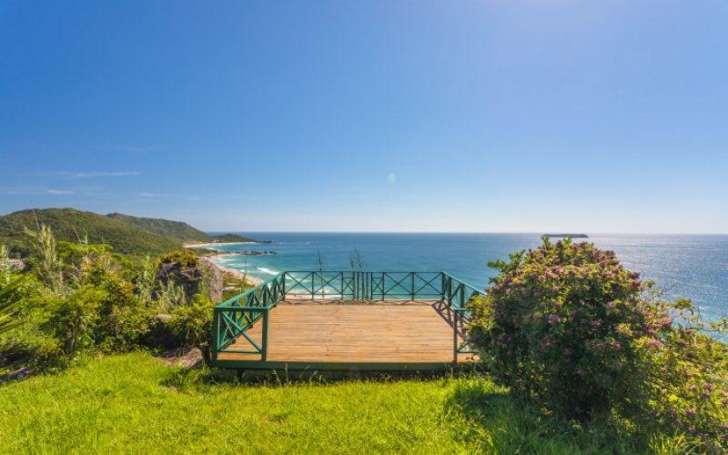 Casa com vista para o mar em florianopolis